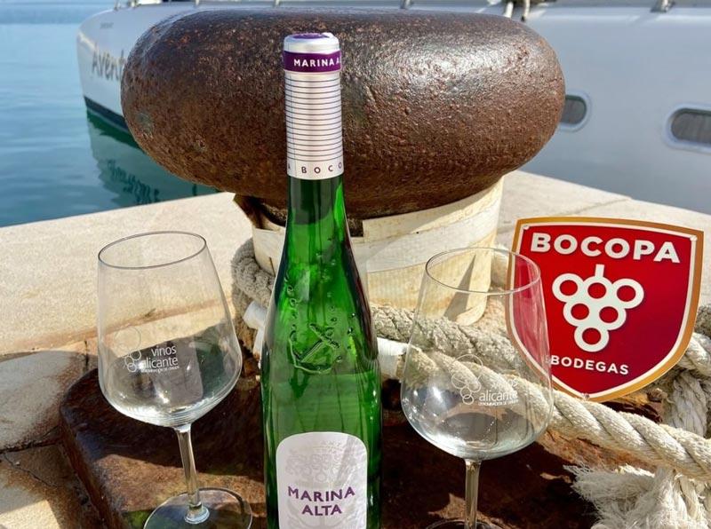 Marina alta, uno de los mejores vinos de alicante, de bodegas bocopa