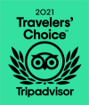 Sello tripadvisor travelers choice 2021